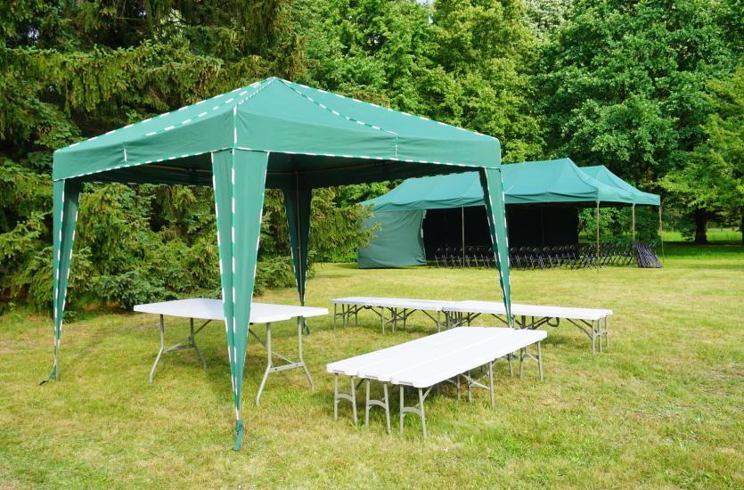 Jaki namiot ogrodowy wybrać?