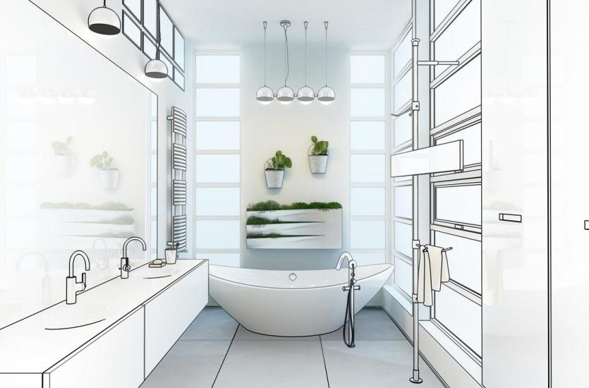Wymarzona łazienka dla domu - propozycje aranżacyjne
