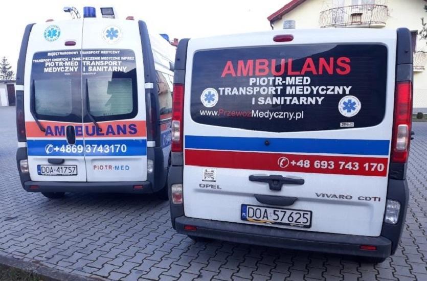 Piotr-med: Transport medyczny pacjenta zakażonego SARS-CoV-2