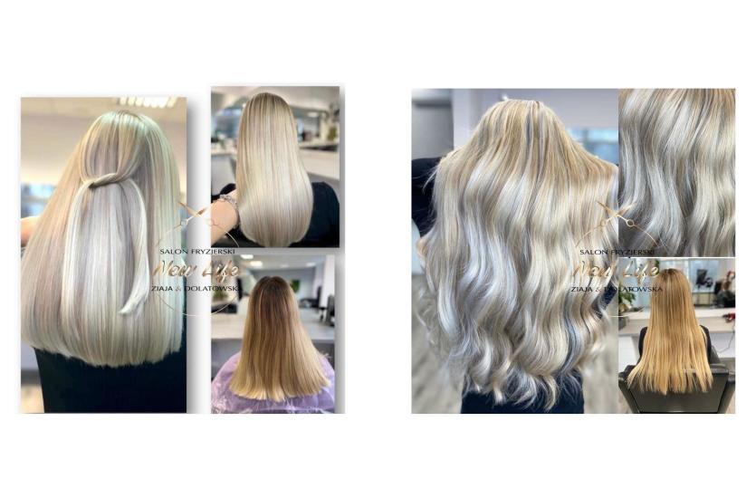 Świetliste chłodne blondy w salonie New Life
