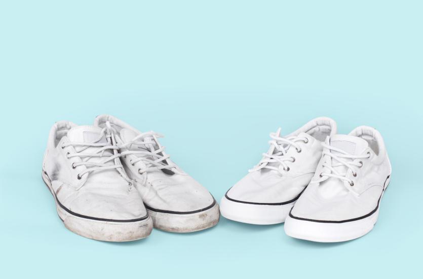 Jak czyścić białe buty? Najlepsze domowe sposoby