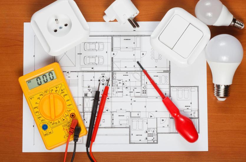 Современный дом благодаря повсеместному электричеству