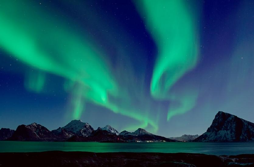 Zorza polarna (Islandia, Norwegia, Finlandia)