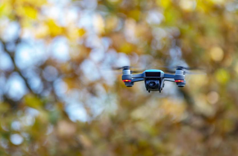 Wykorzystanie dronów w pracach geodezyjnych