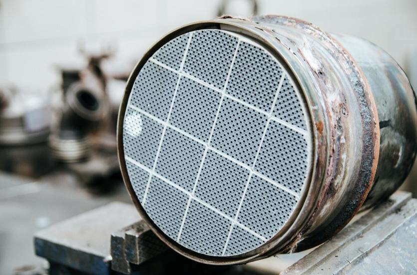 Wypalanie filtra DPF w trybie serwisowym