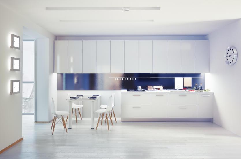 Czy warto wybrać meble lakierowane do kuchni?