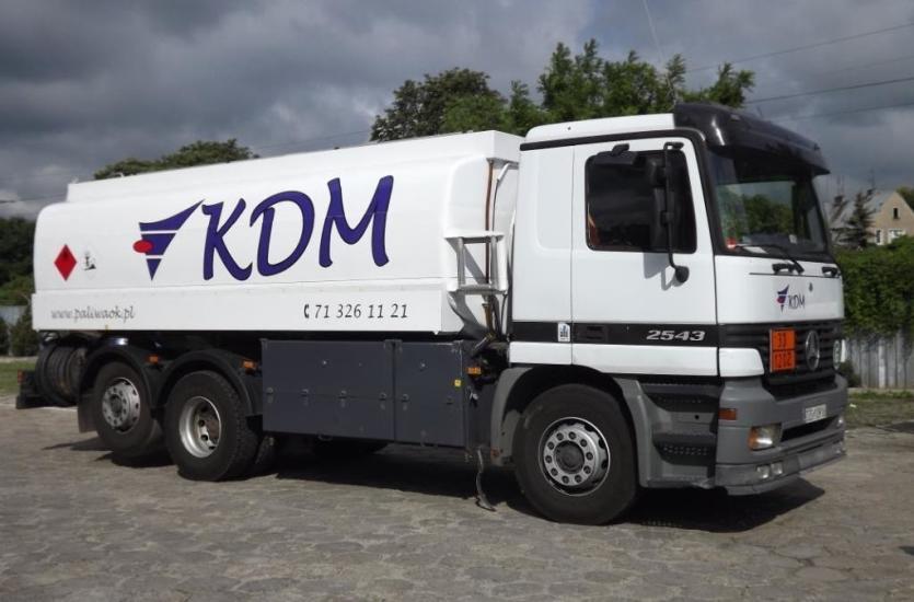Paliwa w ofercie firmy KDM Polska