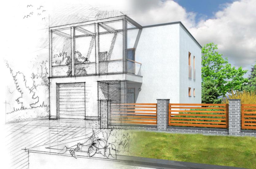 Projekty domów na wąską działkę – jak wybrać dobry projekt?