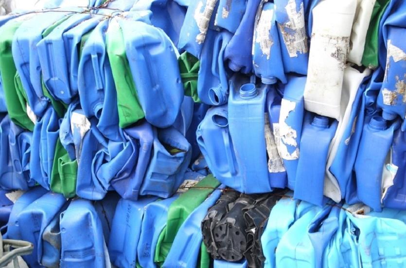 Tworzywa sztuczne przeznaczone do recyklingu