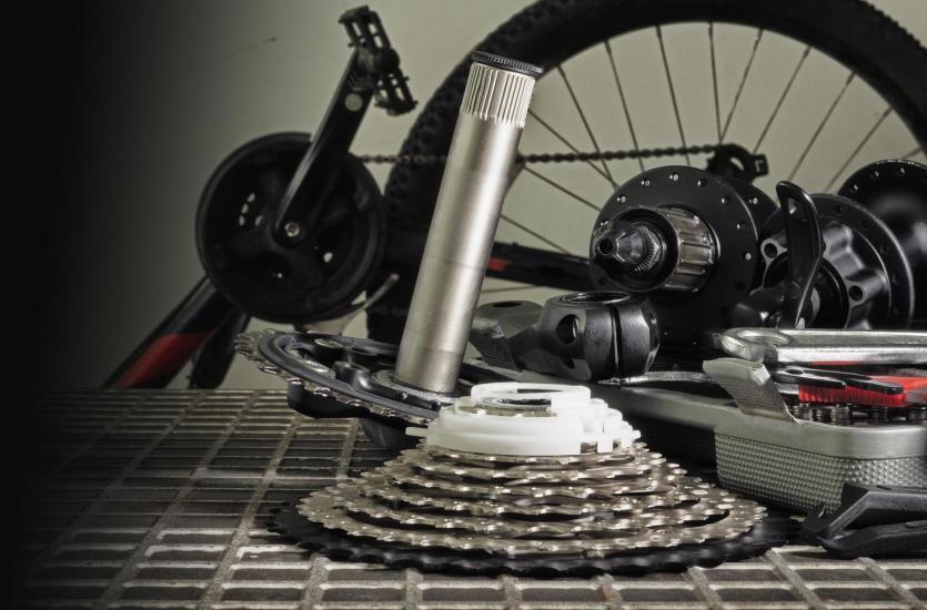 Części rowerowe tworzone na specjalne zamówienie