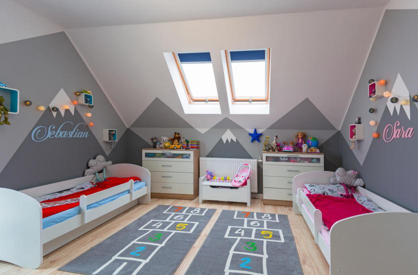 Niezbędne meble do pokoju dziecięcego – o czym należy pamiętać?