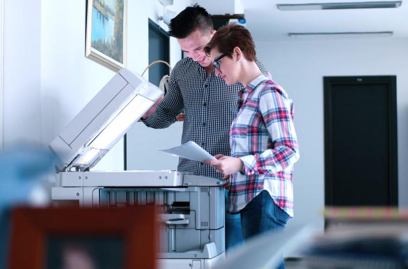 Kserografia – kopiowanie dokumentów małych i dużych formatów