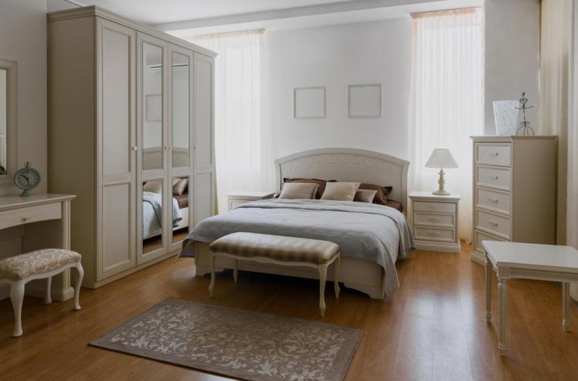 Aranżacja sypialni w romantycznym stylu