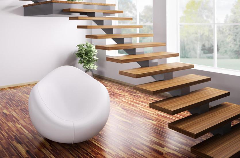 Rodzaje schodów drewnianych