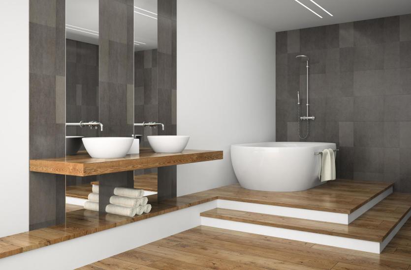 Drewniany Blat W łazience Czy To Na Pewno Dobry Pomysł