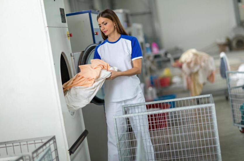 Jak działają pralnie?