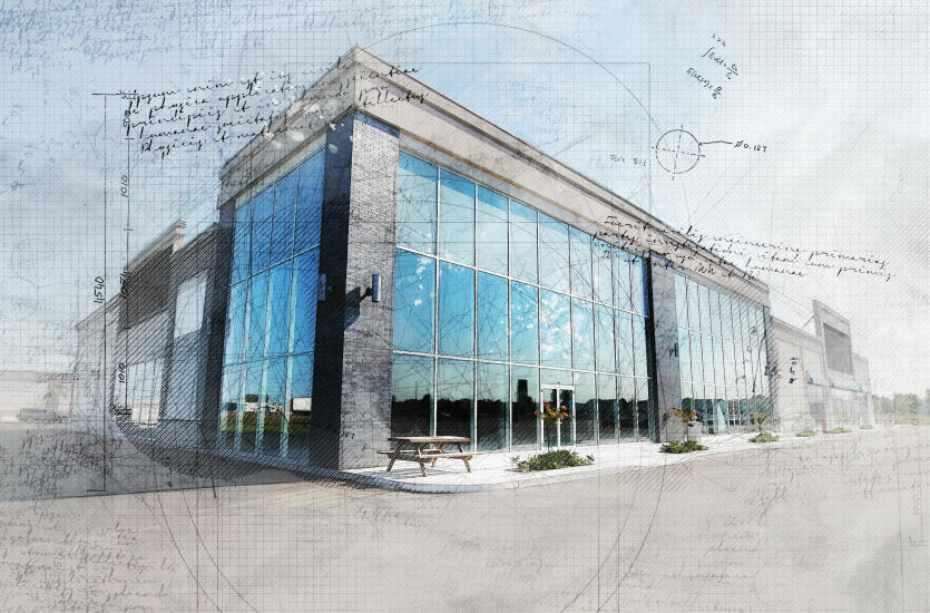 Jakie są etapy budowania galerii handlowej?