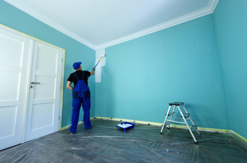 Dobór farby do pomieszczenia - zasady