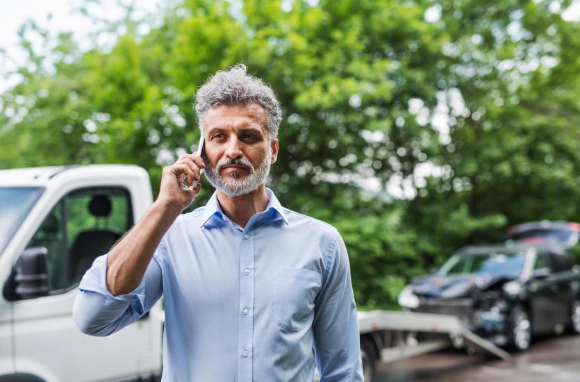 Stłuczka na drodze - co zrobić w takiej sytuacji?