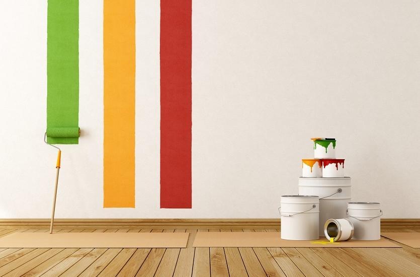 Farby wykorzystywane w pracach budowlanych i wykończeniowych