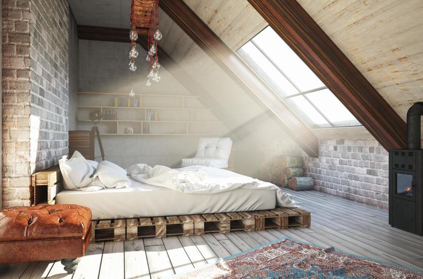 Sypialnia na poddaszu. Jak ją zaaranżować?