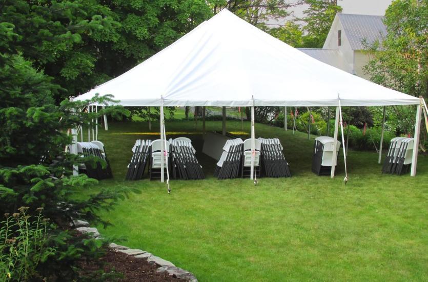Идеальная вечеринка под палаткой