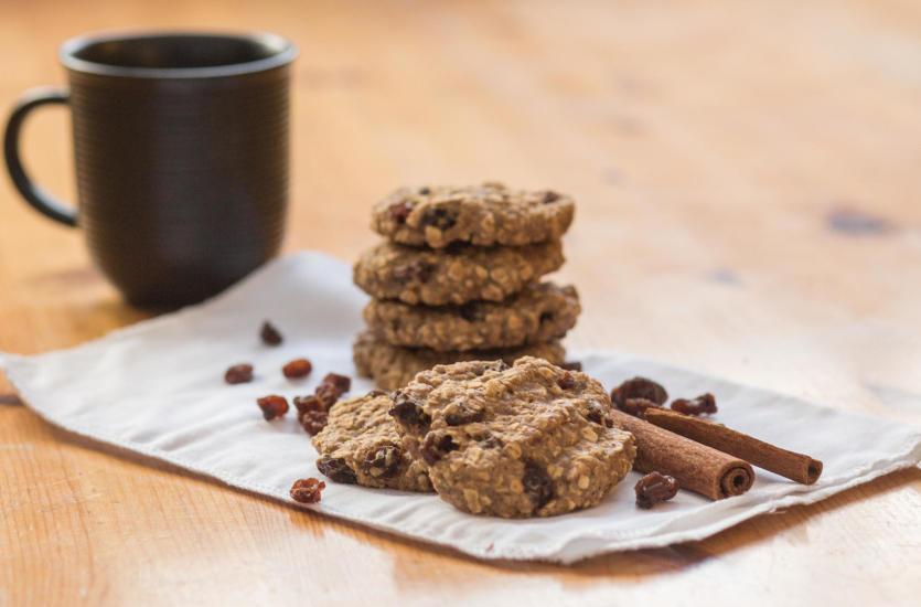 Ciasteczka owsiane sposobem na zdrowie!
