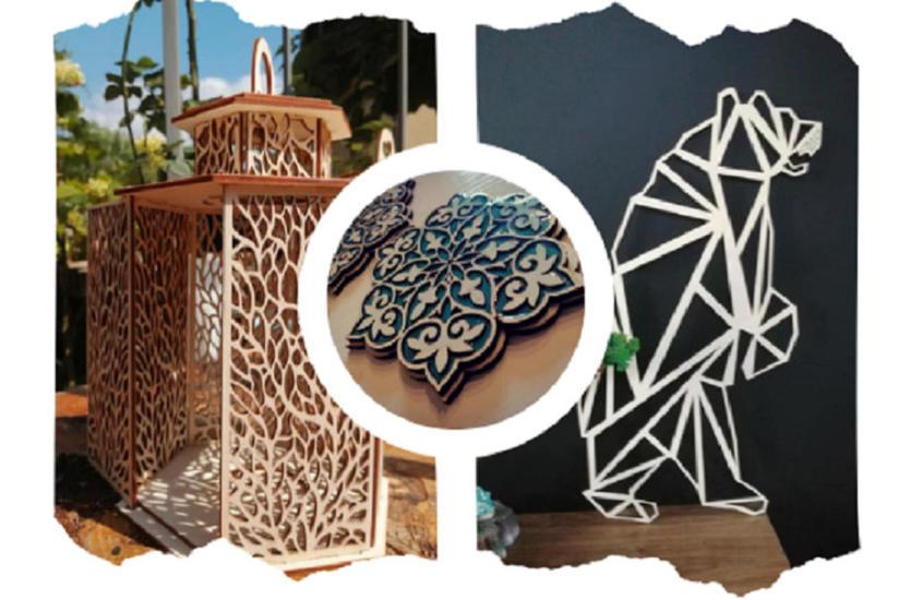 Artystyczne dekoracje drewniane – moda na ażur!