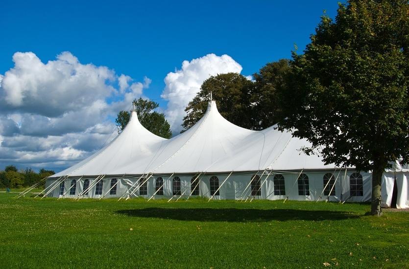 Zastosowanie namiotów handlowych