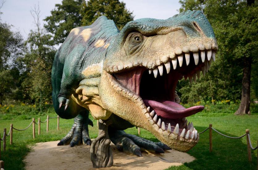 Zabierz dziecko do parku dinozaurów