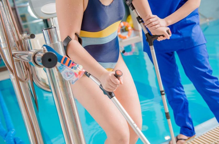 Lekcje pływania dla osób niepełnosprawnych