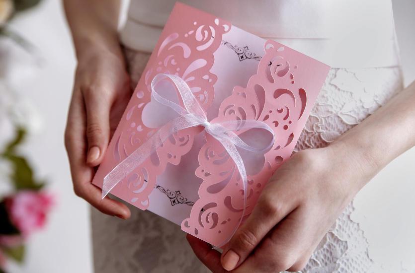 Usługi Poligraficzne Drukowanie Zaproszeń ślubnych