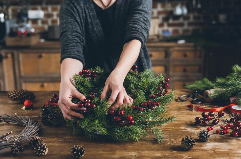 6 inspiracji, jak zrobić ozdoby świąteczne