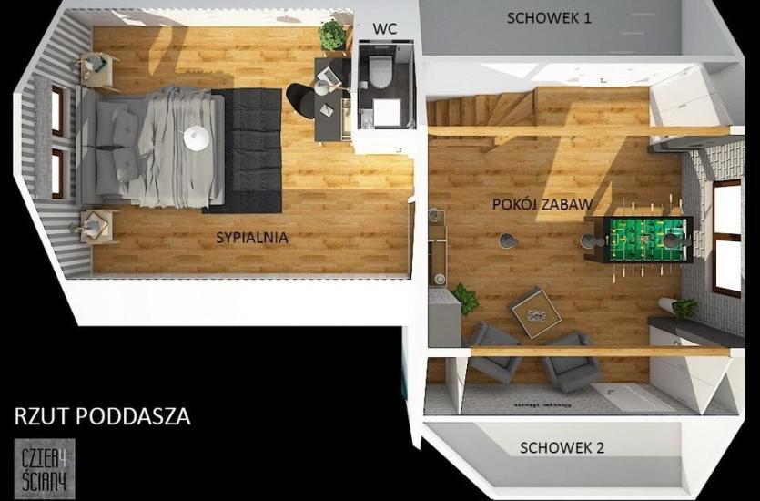 Projekt Mieszkania I Jego Wizualizacja Stworzone Przez Fachowca