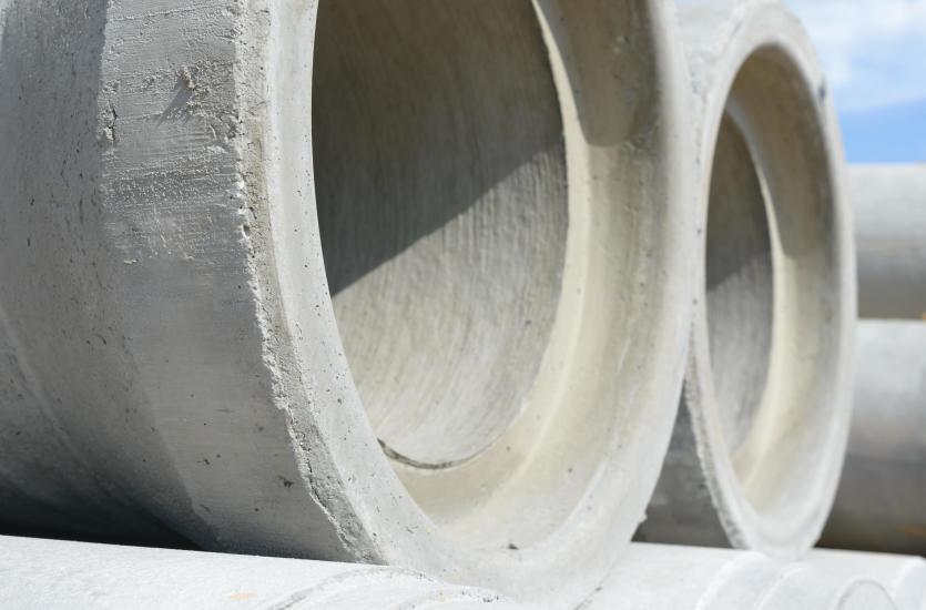 Бетонные кольца и водопропускные трубы - где они используются?