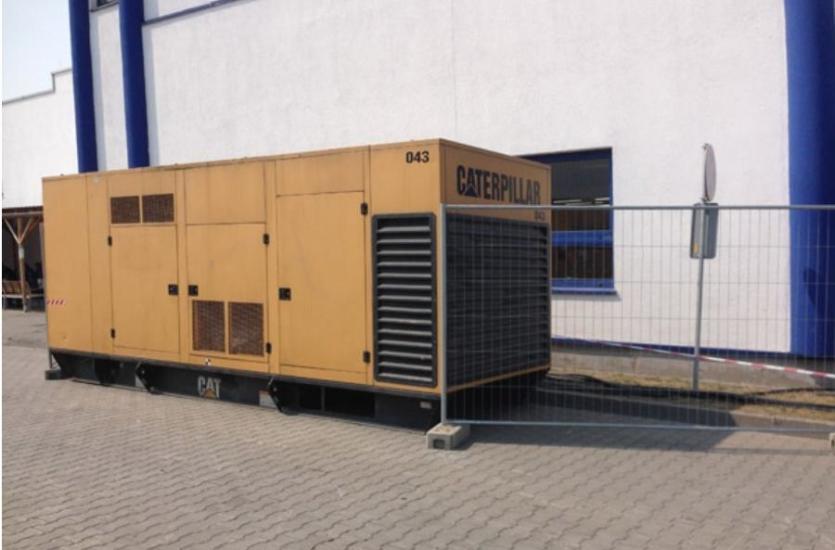 Nowoczesna architektura Mobilny agregat prądotwórczy źródłem energii w każdym miejscu LH77
