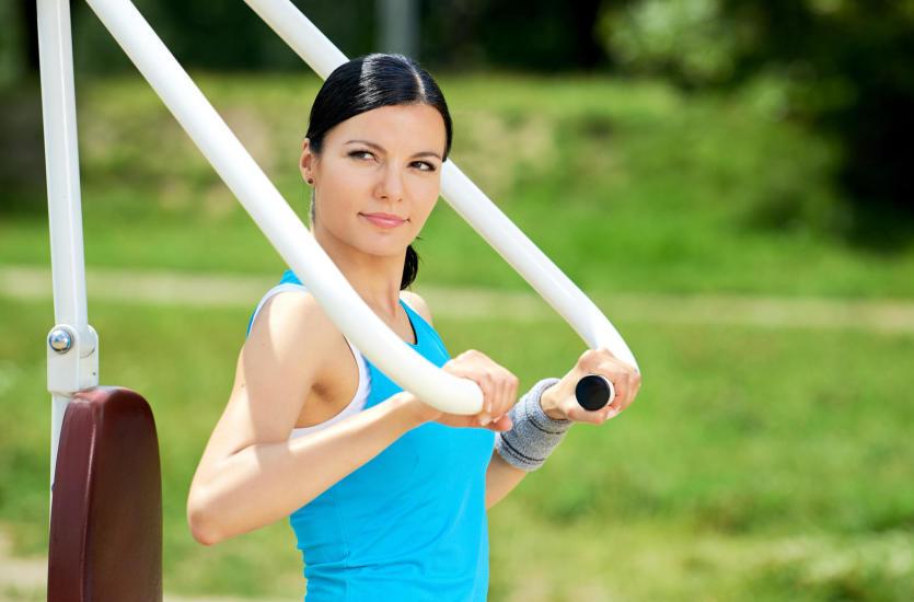 Outdoor fitness, czyli siłownia na powietrzu