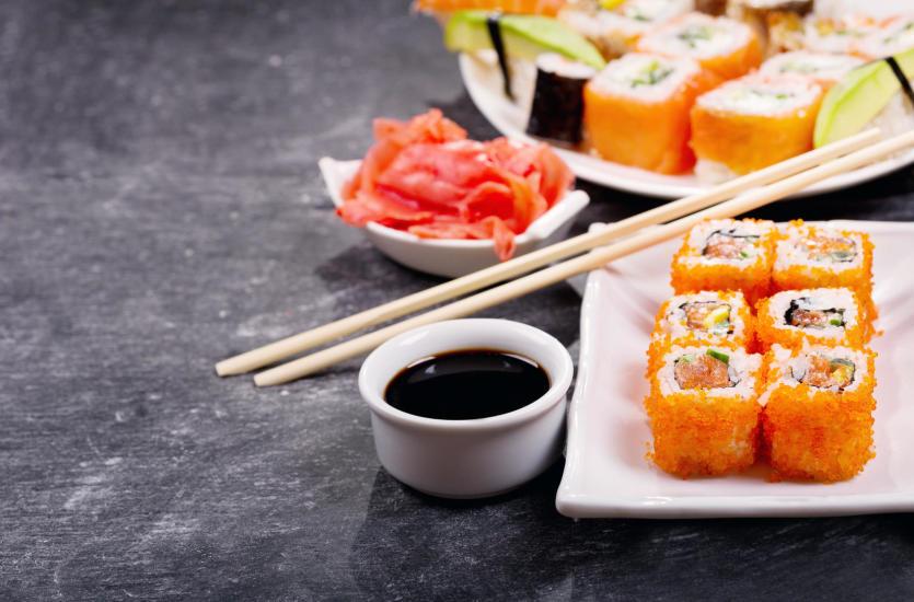Sushi. Przysmak z Kraju Kwitnącej Wiśni