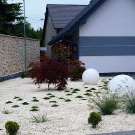 Projektowanie i wykonanie ogrodów przydomowych