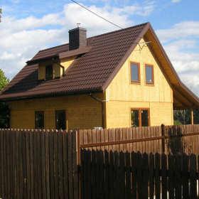 Domy drewniane – ciepło drewna zamiast zimnych murów