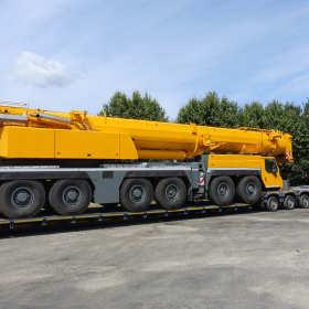 Transport ciężkich ładunków ponadgabarytowych