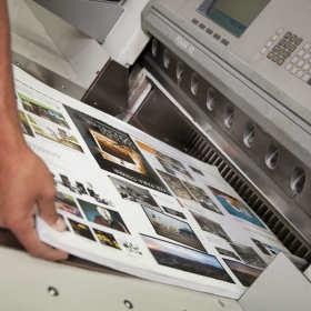 Składanie wydruków papierowych i tekstów cyfrowych