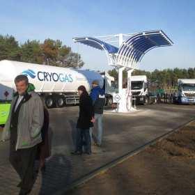 Innowacyjna stacja LNG/CNG w Śremie