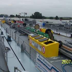Wytrzymałe elementy wyposażenia statków żeglugi śródlądowej