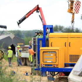 Obsługa geodezyjna inwestycji – budowa gazociągu. Jak wyglądają prace?