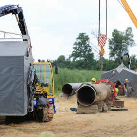 Obsługa geodezyjna prac projektowych przy budowie projektów gazowych