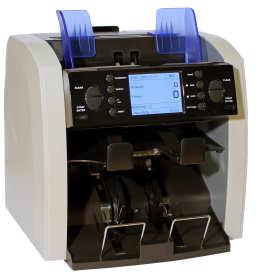 Specjalistyczny sprzęt do liczenia, pakowania i przechowywania pieniędzy