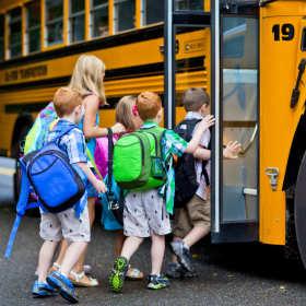 Dojazdy dzieci do szkoły