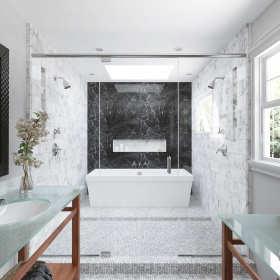 Czy szkło lakierowane to dobry wybór do łazienki?