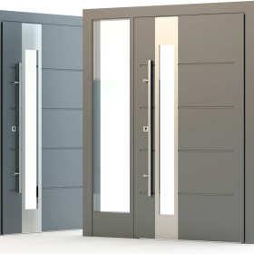 Dlaczego warto wybrać drzwi aluminiowe?